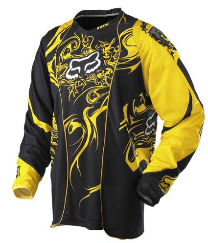 FOX Maillot ENCORE jaune 2007