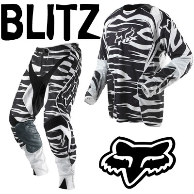 FOX Pack BLITZ ZEBRA noir