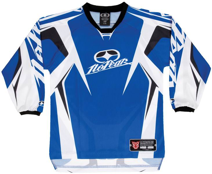 NO FEAR Maillot KID Rogue  Blue ref 7002