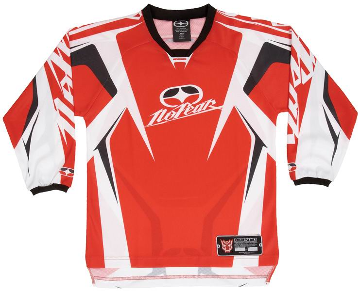 NO FEAR Maillot KID Rogue Red ref 7002 TAILLE  KS OU KXL