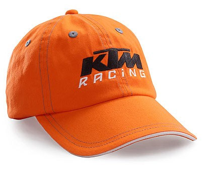 KTM kid's cap orange