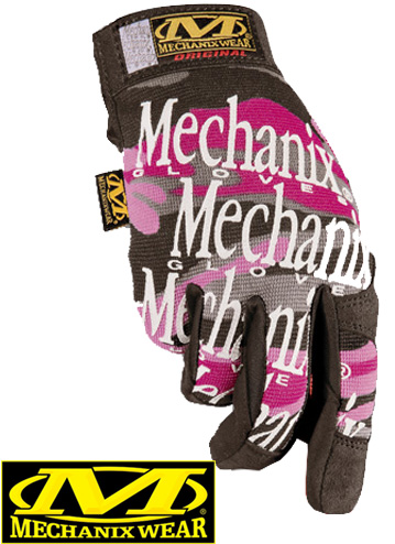 MECHANIX Gants PINK CAMO