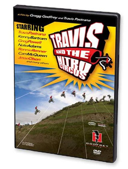 DVD TRAVIS AND THE NITRO CIRCUS