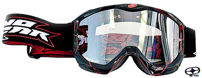 NO FEAR Masque AIR FORCE iridium energy les 2 paires pour
