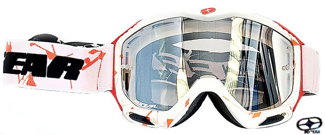 NO FEAR Masque AIR FORCE iridium japan les 2 paires pour
