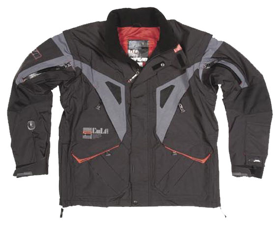 NO FEAR Veste Colt Waterproof taille M Black/Grey