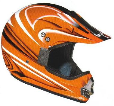 BERIK Casque Crossmaster Orange