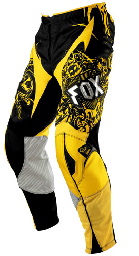 FOX Pant ENCORE jaune 2007