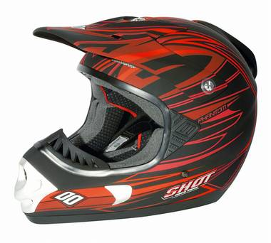 SHOT casque Phantom Rouge Mat