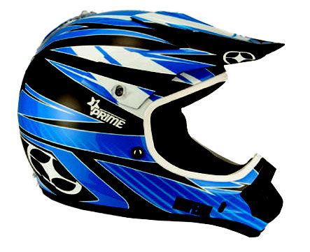 NO FEAR Casque Prime race blue