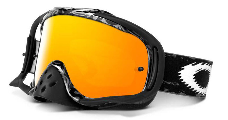 OAKLEY masque PRO CROWBAR Grey tribal/fire 12-283