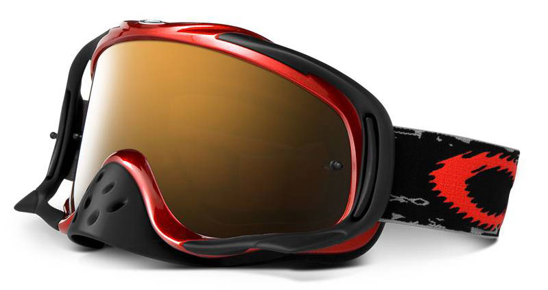 OAKLEY masque PRO CROWBAR metalic red/black iridium 12-282