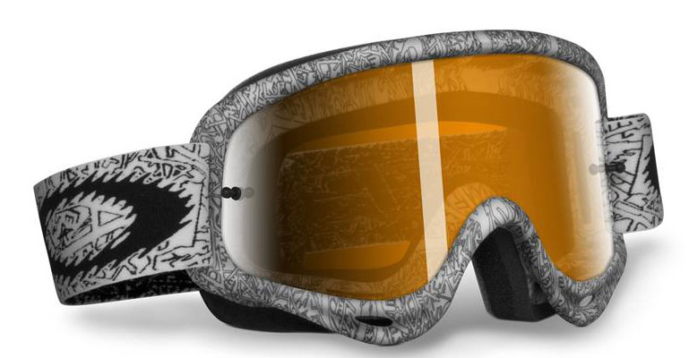 OAKLEY Masque Pro Frame White Text/black iridium 12-280