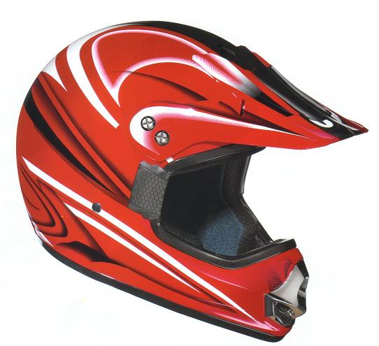 BERIK Casque Crossmaster Rouge