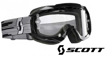 SCOTT Masque HUSTLE enduro noir