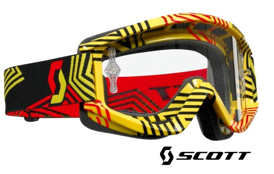 SCOTT Masque RECOIL XI jaune