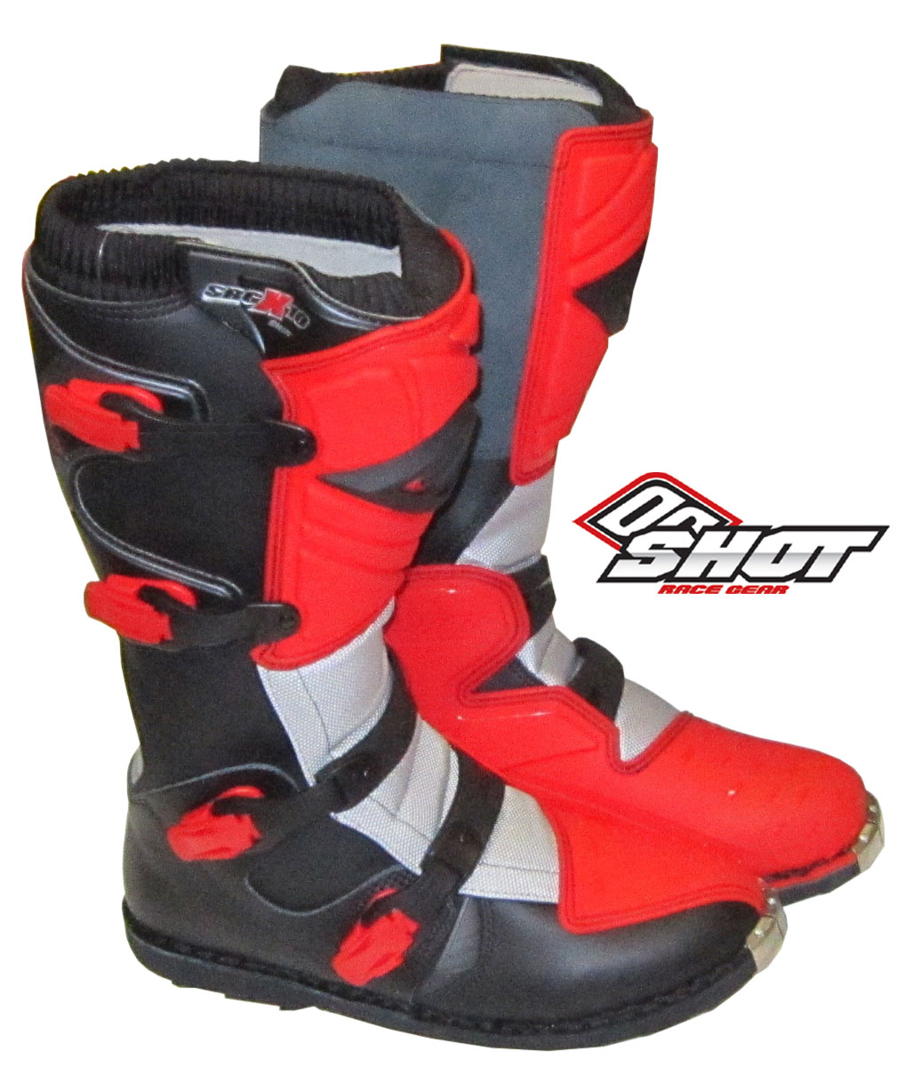 SHOT BOTTES SRG X10 rouge Taille 41.48