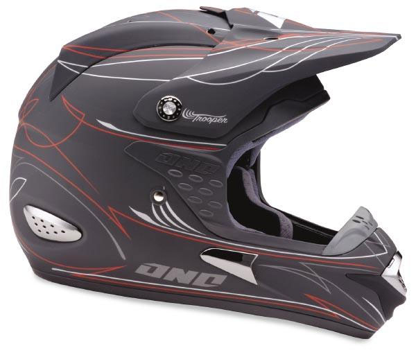 ONE Casque TROOPER flat black
