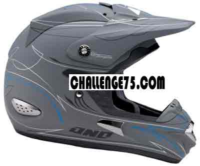 ONE Casque TROOPER flat grey