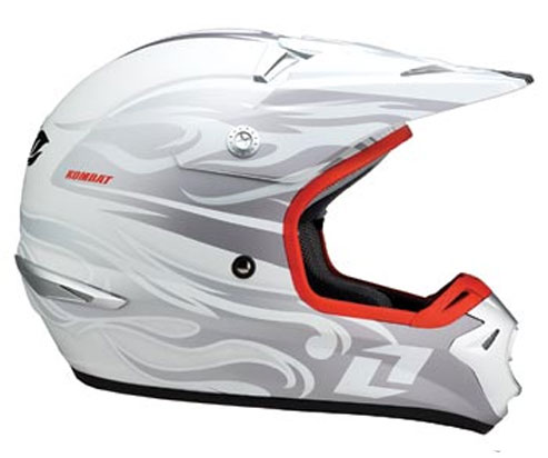 ONE Casque TROOPER Tribal white 2007
